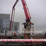 Bán cho thuê cần phân phối bê tông bán kính 28m, 32m, 36m, 42m-2