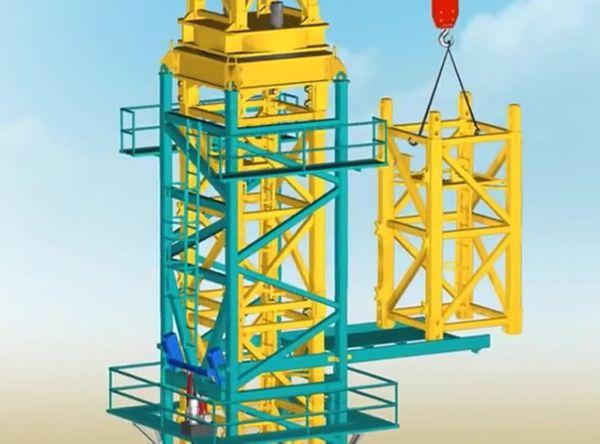 Quy trình lắp dựng cẩu tháp vận hành an toàn tuyệt đối-14