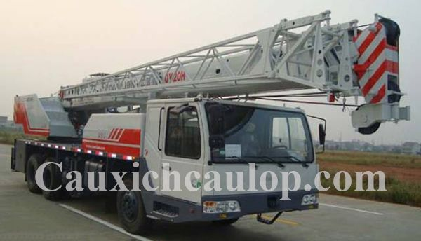 Thông số kỹ thuật xe cẩu bánh lốp Zoomlion QY20H531 20 tấn