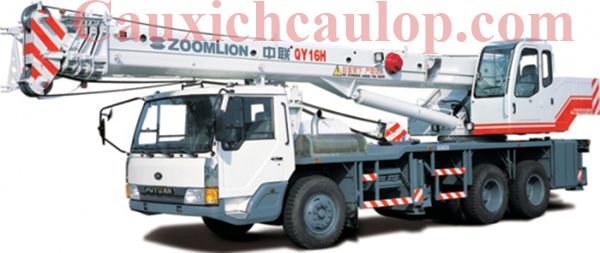 Thông số kỹ thuật xe cẩu bánh lốp Zoomlion QY16 16 tấn