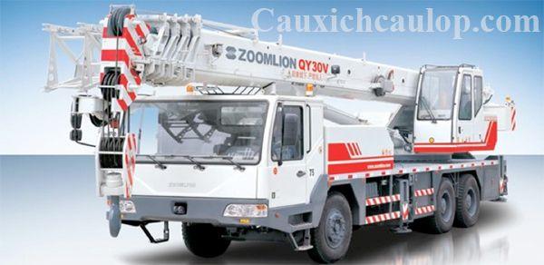 Thông số kỹ thuật xe cẩu bánh lốp Zoomlion QY30V 30 tấn