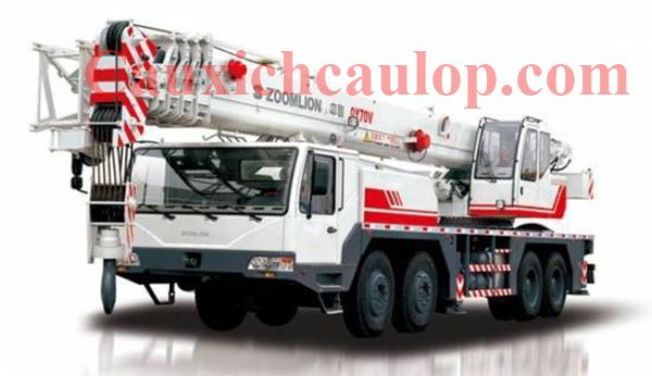 Thông số kỹ thuật xe cẩu bánh lốp Zoomlion QY70 70 tấn