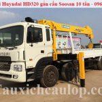 Bán xe Huyndai HD320 gắn cẩu Soosan 10 tấn