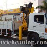 Xe tải Hino 15 tấn gắn cẩu Soosan SCS1015LS Hàn Quốc 10 tấn