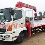 Xe tải Hino XZU720 gắn cẩu Unic URV343