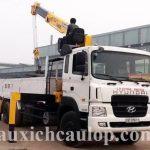 Xe tải Hyundai HD250 lắp cẩu Soosan SCS1015LS Hàn Quốc 10 tấn
