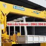 Bán cẩu Soosan mới, cũ giá tốt nhất Việt Nam