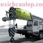 Thông số kỹ thuật xe cẩu bánh lốp QY55D531.1 trọng tải 55 tấn