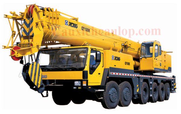 Xe cẩubánh lốp XCMG QUY 100K trọng tải 100 tấn